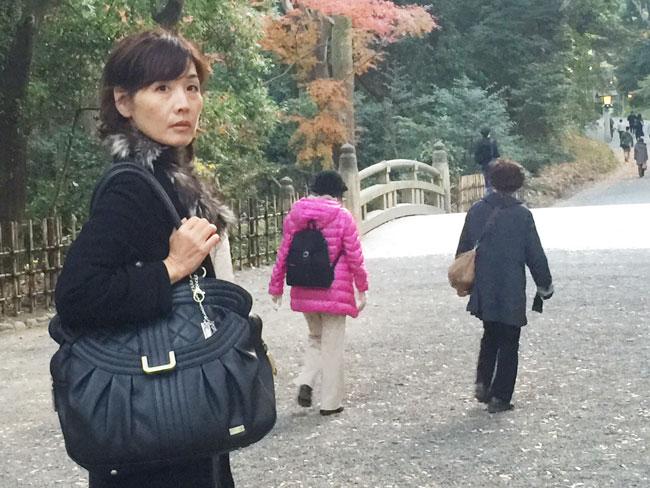 日本へ行ったときも大活躍でした!オフの時も使えるのがいいのです